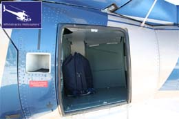 Eurocopter AS350 - Rear Luggage Hold / Luggage Compartment