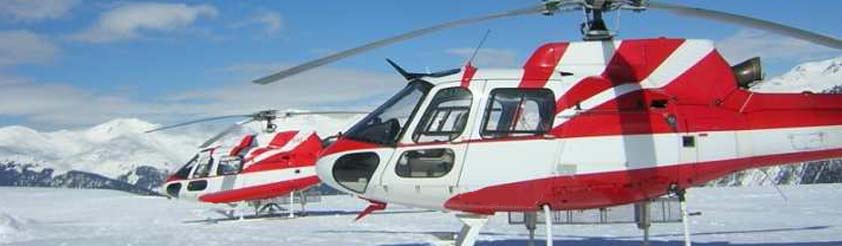 Courchevel Helicopters - Helicopter Transfers, Airport Transfers, Sightseeing and Tourist helicopter flights and Tours