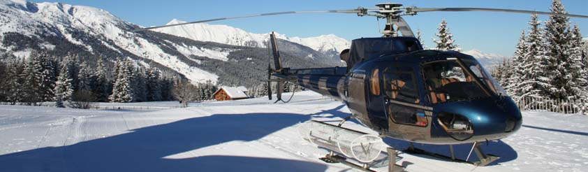 Flaine Helicopters - Helicopter Transfers, Airport Transfers, Sightseeing and Tourist helicopter flights and Tours