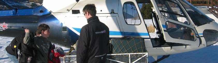 La Rosiere Helicopters - Helicopter Transfers, Airport Transfers, Sightseeing and Tourist helicopter flights and Tours