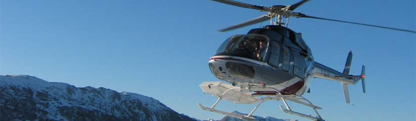 Les Deux Alpes - Les 2 Alpes Helicopters - Helicopter Transfers, Airport Transfers, Sightseeing and Tourist helicopter flights and Tours