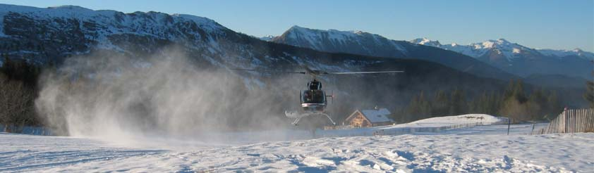 Meribel Helicopters - Helicopter Transfers, Airport Transfers, Sightseeing and Tourist helicopter flights and Tours