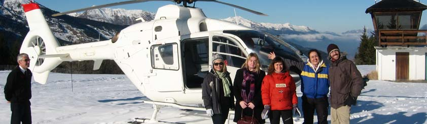 Serre Chevalier Helicopters - Helicopter Transfers, Airport Transfers, Sightseeing and Tourist helicopter flights and Tours