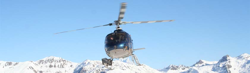 Tignes Helicopters - Helicopter Transfers, Airport Transfers, Sightseeing and Tourist helicopter flights and Tours