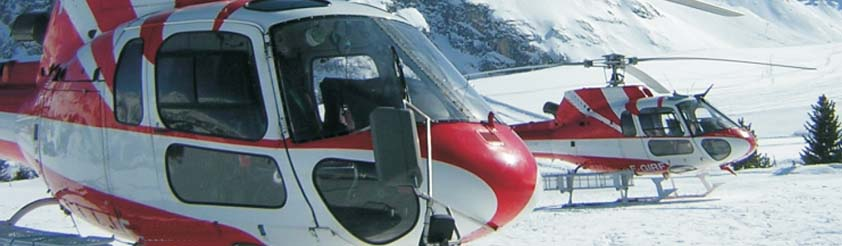 Val D'Isere Helicopters - Helicopter Transfers, Airport Transfers, Sightseeing and Tourist helicopter flights and Tours
