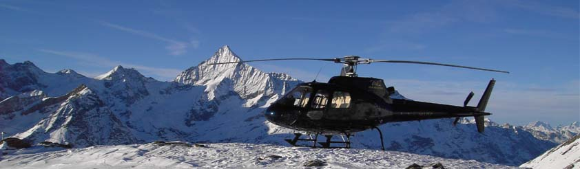 Arosa Helicopters - Helicopter Transfers, Airport Transfers, Sightseeing and Tourist Helicopter Flights and Tours
